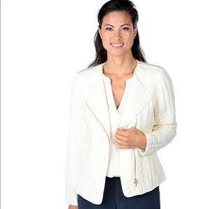 Go Silk Silk Quilted Jacket